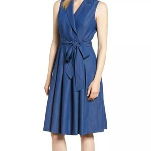 Anne Klein Sleeveless Wrap Cocktail Dress NWT 14W